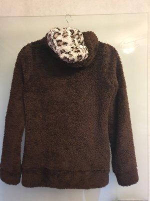 Sublevel Veste imitation fourrure brun foncé