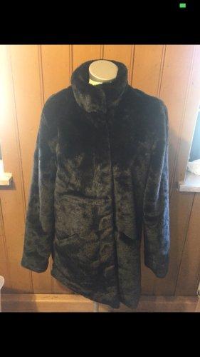 Only Giacca in eco pelliccia nero