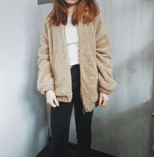 Urban Outfitters Oversized Jacket beige-camel