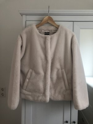 Zara Fake Fur Jacket cream