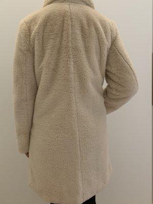 B.young Fake Fur Coat natural white polyester