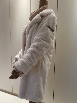Frieda & Freddies New York Manteau en fausse fourrure blanc cassé