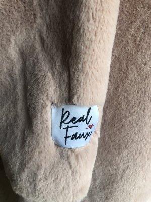 Teddy Mantel Rino & Pelle rosa - fast neu