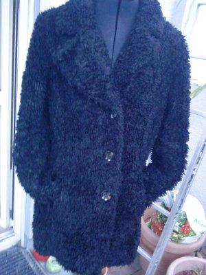 Beaumont Amsterdam Manteau en fausse fourrure noir polyester