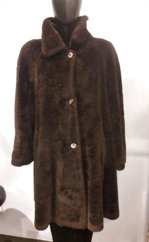 Winter Coat brown-cognac-coloured
