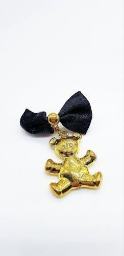 Spilla nero-oro