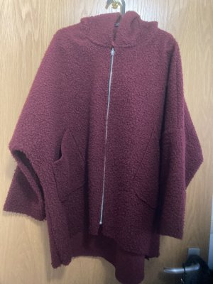 Hooded Coat bordeaux