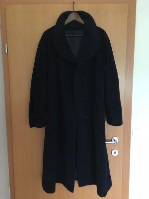 Płaszcz oversize ciemnoniebieski