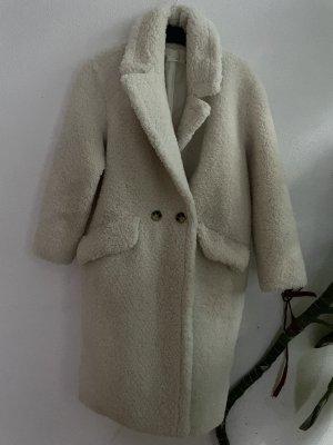 Mango Winter Coat white-natural white
