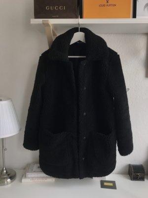 H&M Fur Jacket black
