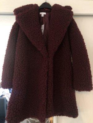 Teddyfell Mantel sehr flauschig