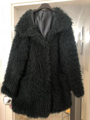 Teddyfell Mantel von Zara