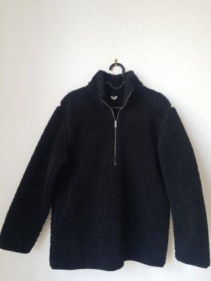 ARKET Fleece Jumper black