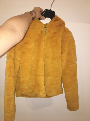 Only Fur Jacket yellow