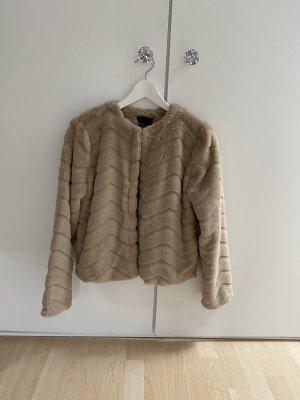Even & Odd Fur Jacket multicolored