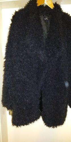 BC Collection Veste en fausse fourrure noir