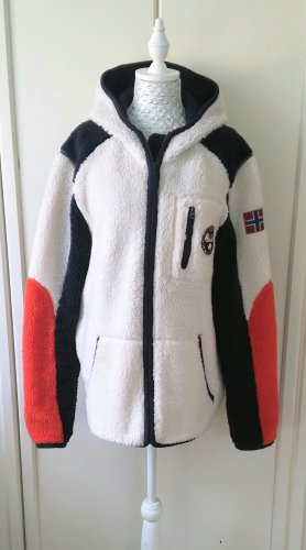 Napapijri Fake Fur Jacket multicolored