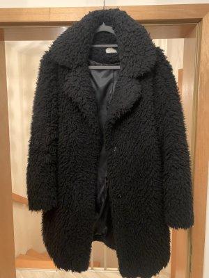 Carnabys Manteau en fausse fourrure noir