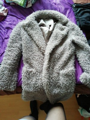 Amisu Pelt Jacket silver-colored