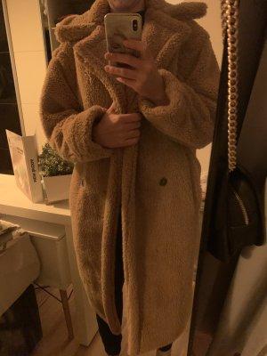 Płaszcz oversize brązowy