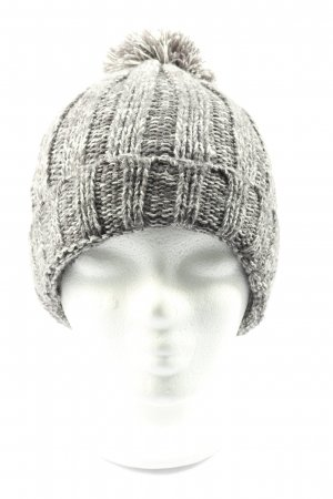 tedi Knitted Hat light grey cable stitch casual look