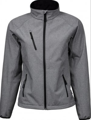 Tee Jays Softshell Jacket grey polyester