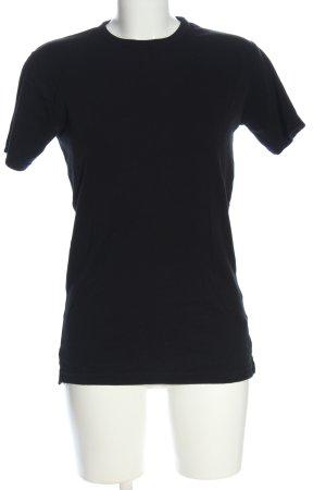 Tee Jays Print-Shirt schwarz Motivdruck Casual-Look