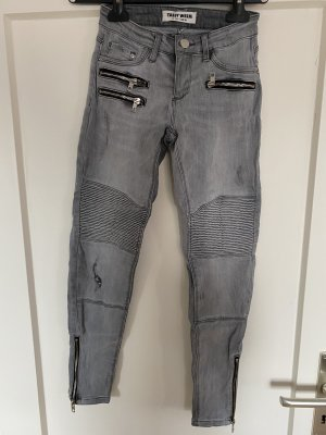 Telly Weijl Jeans gr.XS grau