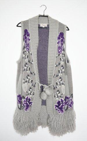 Temperley london Cappotto a maglia multicolore Mohair