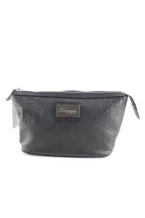 Temperley london Reisetasche schwarz Animalmuster Elegant
