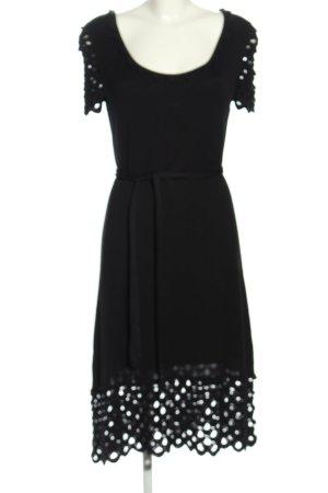 Temperley london Abito di maglia nero stile casual