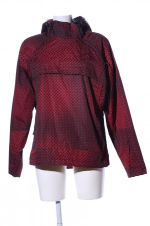 Temster Windstopper rot abstraktes Muster Casual-Look