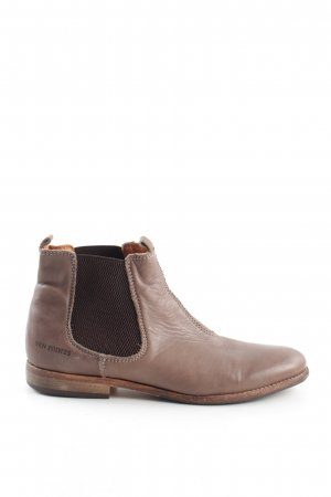 TEN POINTS Kurzstiefel braun Casual-Look