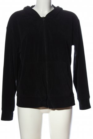 TENDE GREES Fleece Jackets black casual look