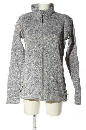TENDE GREES Outdoor Jacket light grey flecked casual look