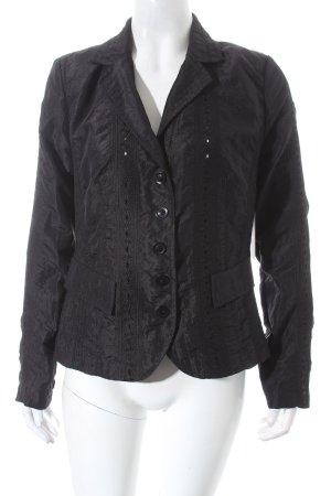 Tendenza Kurz-Blazer schwarz Elegant