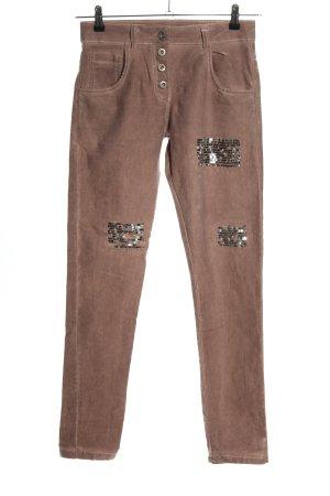 Tendenza Slim Jeans braun Casual-Look