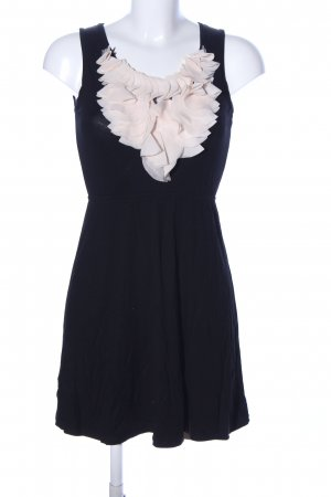 tenki Trägerkleid schwarz-creme Elegant