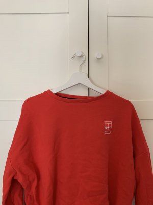 Nike Oversized Sweater red
