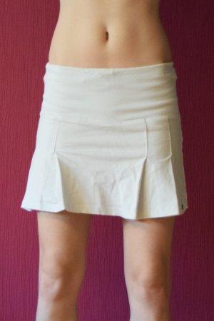 Miss Petrolio Skaterska spódnica biały Bawełna