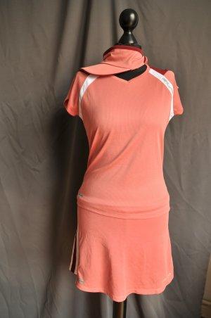 Fila T-shirt jurk veelkleurig Gemengd weefsel