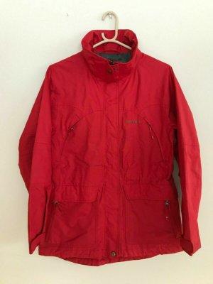 Tenson Poncho da pioggia rosso Poliestere