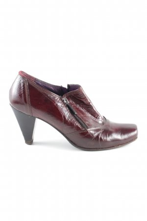 Tentazione due Loafers rood zakelijke stijl