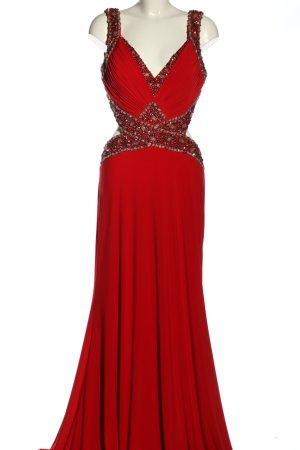 Terani Couture Abendkleid rot Elegant