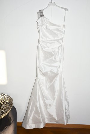 Teri Jon Wedding Dress white polyester