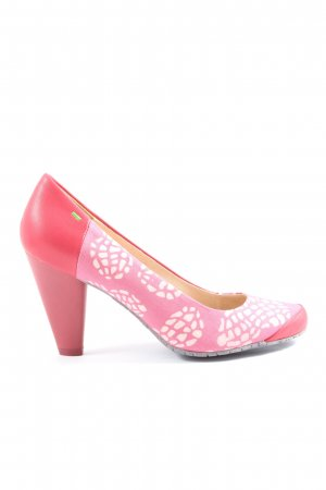 Terra plana High-Front Pumps abstract pattern casual look