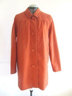 terrakottafarbener Mantel von Kauf Dich Glücklich Gr. M