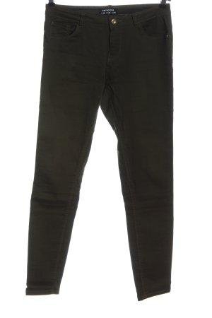 Terranova Spodnie z pięcioma kieszeniami czarny W stylu casual