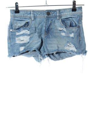 Terranova Hot Pants blau Casual-Look
