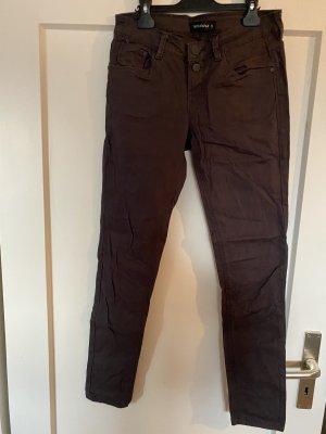 Terranova Jeans skinny marrone scuro-marrone
